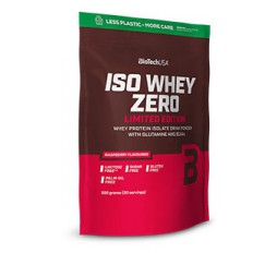 Slika izdelka: Iso Whey Zero 500 g - Native Whey LIMITED EDITION